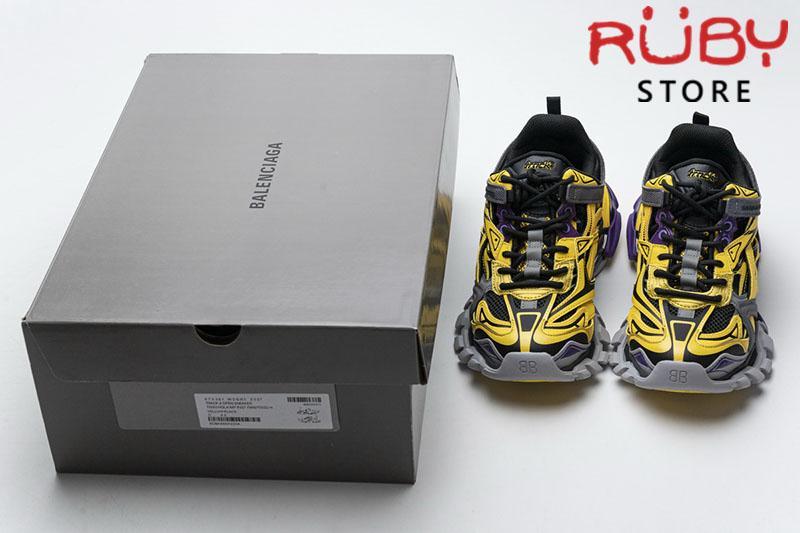 Giày Balenciaga Track 2.0 Vàng Xám Replica 1:1 (Siêu Cấp)