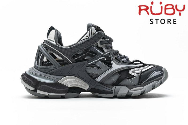Giày Balenciaga Track 2.0 Xám Đen Replica 1:1 (Siêu Cấp)