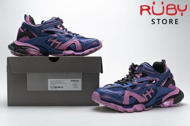 Giày Balenciaga Track 2.0 Xanh Hồng Replica 1:1 (Siêu Cấp)