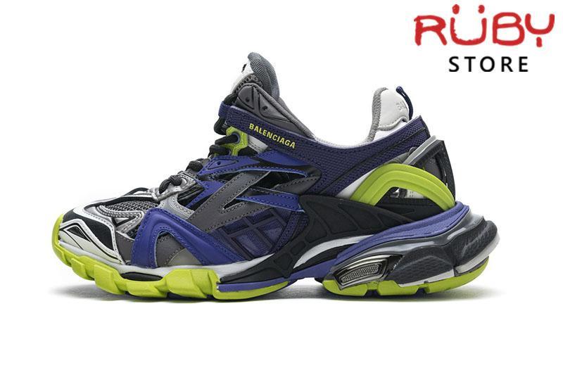 Giày Balenciaga Track 2.0 Xanh Navy Xanh Lá Replica 1:1 (Siêu Cấp)