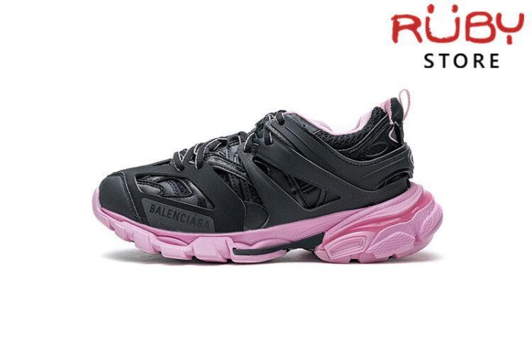 Giày Balenciaga Track 3.0 Đen Hồng Replica 1:1 (Siêu Cấp)