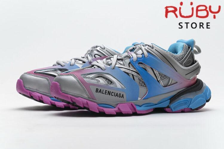 Giày Balenciaga Track 3.0 Trắng Xanh Hồng Replica 1:1 (Siêu Cấp)