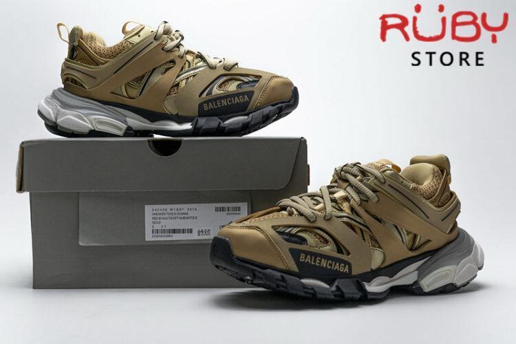 Giày Balenciaga Track 3.0 Vàng Trắng Replica 1:1 (Siêu Cấp)