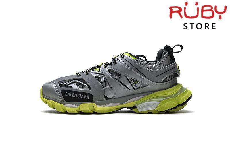Giày Balenciaga Track 3.0 Xám Xanh Lá Replica 1:1 (Siêu Cấp)