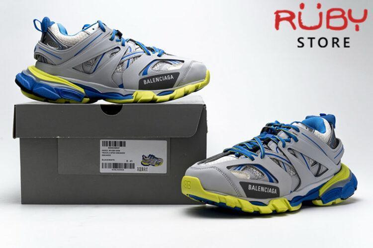 Giày Balenciaga Track 3.0 Xám Xanh Replica 1:1 (Siêu Cấp)