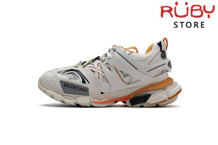 Giày Balenciaga Track Led Trắng Cam Replica 1:1 (Siêu Cấp)