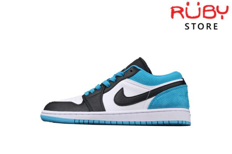 Giày Air Jordan 1 Low Laser Blue Xanh Đen