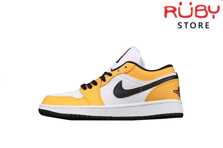 Giày Air Jordan 1 Low Laser Orange Vàng