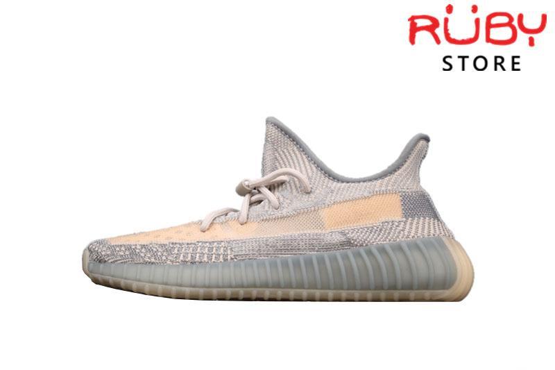 Giày Yeezy 350 V2 Israfil Xám Vàng