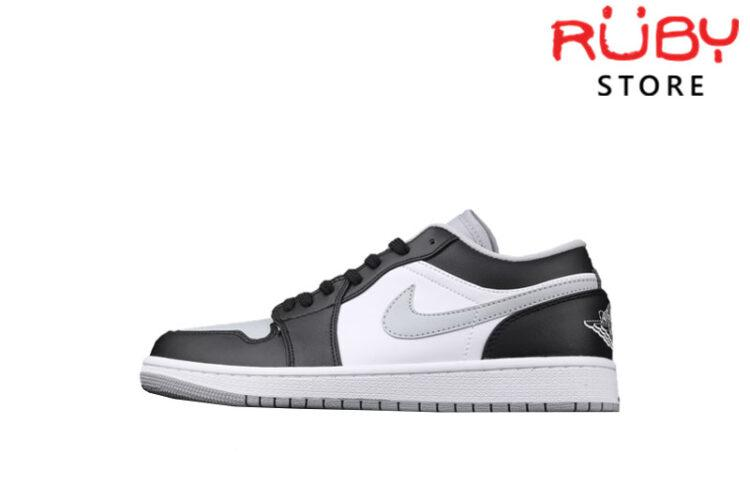 Giày Air Jordan 1 Low Shadow Đen Xám