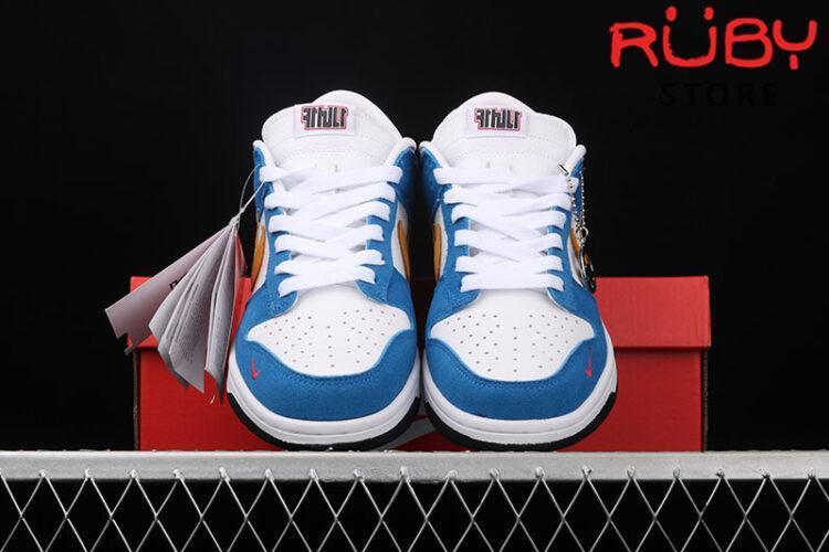 Giày Nike SB Dunk Low Kasina Industrial Blue Xanh Vàng