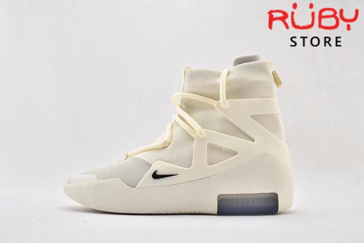Giày Nike Air Fear Of God 1 Sail Black Replica 1:1 (Chuẩn nhất 2019)