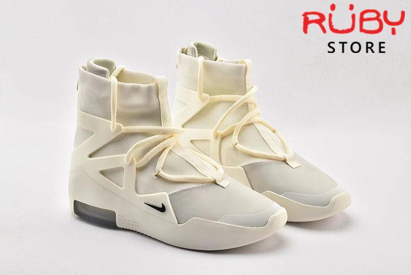 Giày Nike Air Fear Of God 1 Sail Black Replica 1:1 (Chuẩn nhất 2019)