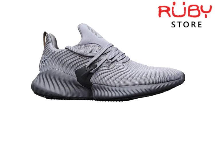 Giày Adidas Alphabounce Instinct Xám Đen 2019