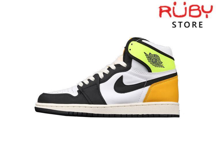 Giày Jordan 1 High Volt Gold Xanh Vàng