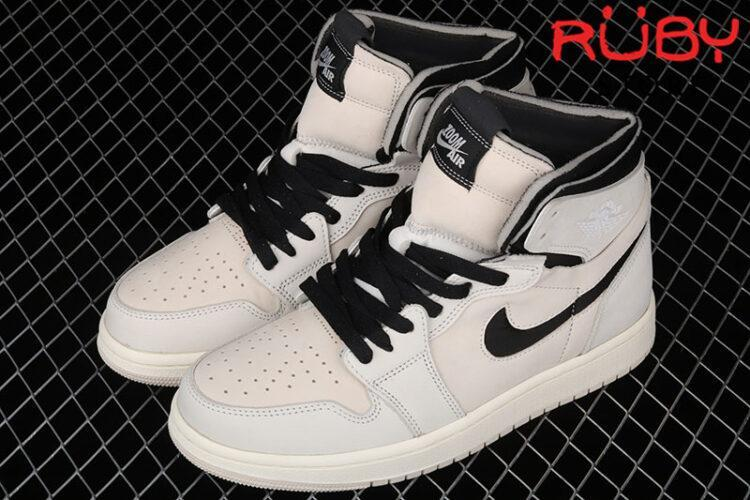 Giày Jordan 1 High Zoom Air CMFT Summit White Black Hồng Pastel