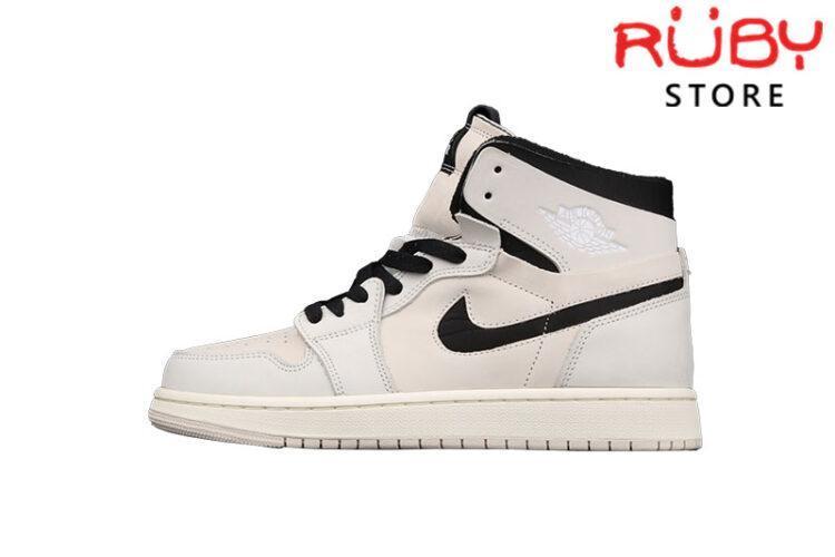 Giày Jordan 1 High Zoom Air CMFT Summit White Black Hồng Pastel