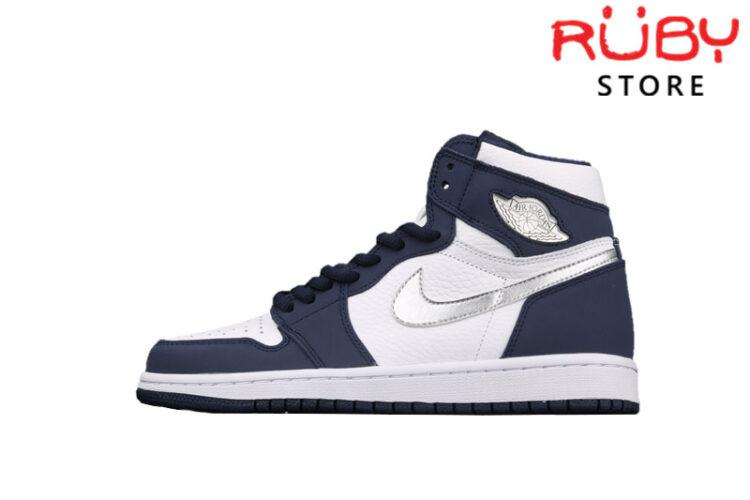 Giày Jordan 1 High CO Japan Midnight Navy Xanh