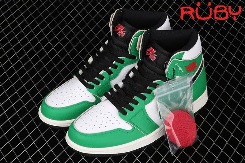 Giày Jordan 1 High Lucky Green Xanh Lá