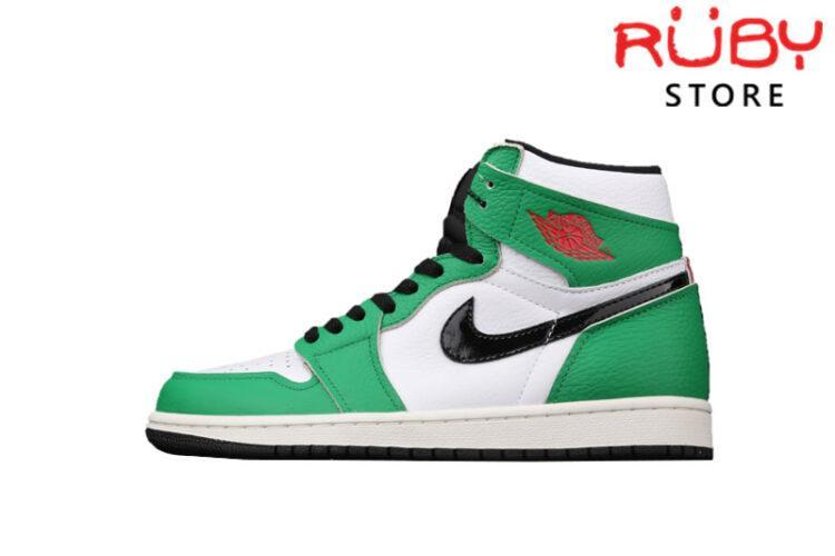 Giày Jordan 1 High Lucky Green Xanh Lá