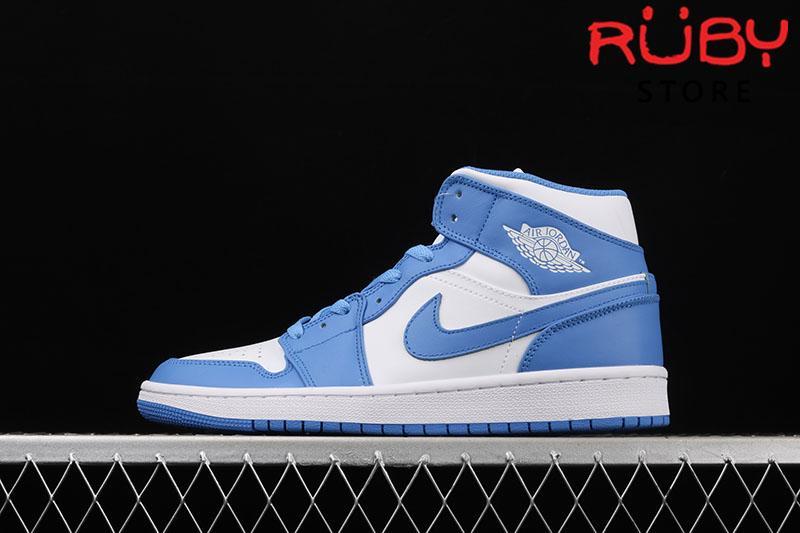 Giày Jordan 1 High UNC Xanh Dương