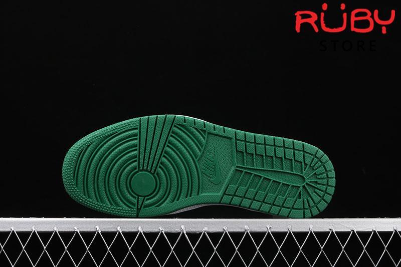 Giày Jordan 1 High Pine Green Black Xanh Lá Đen