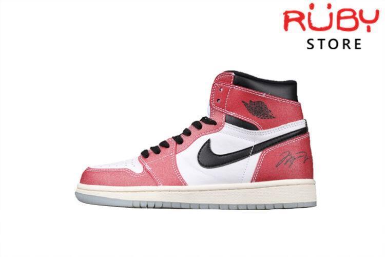 Giày Jordan 1 High Trophy Room Chicago Trắng Đỏ