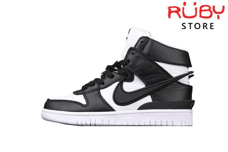 Giày Nike Dunk High Ambush Black White Đen Trắng