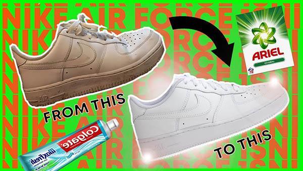 Chất tẩy để vệ sinh giày AF1