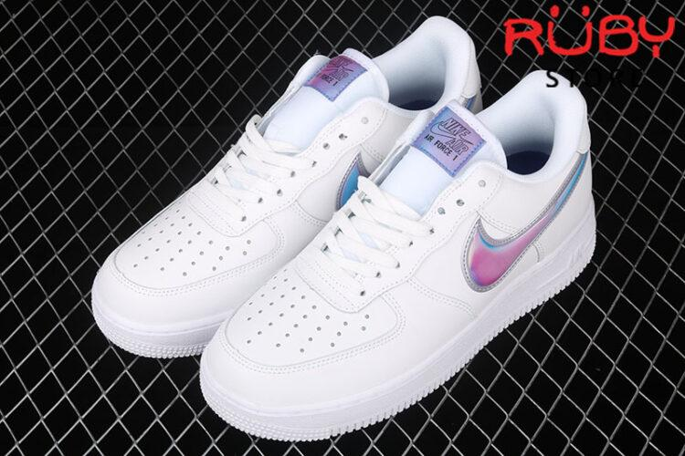 Giày Nike Air Force 1 Gradiant Xanh Tím