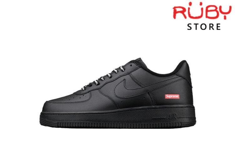 Giày Nike Air Force 1 Low Supreme Black Đen