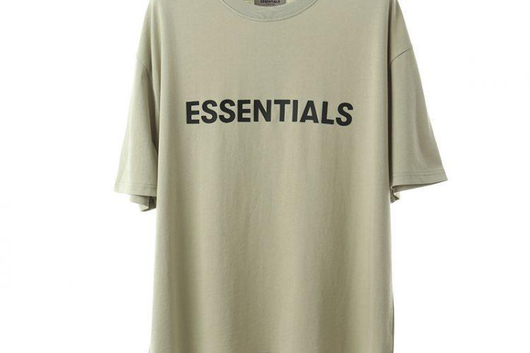 Áo Thun Fear of God Essentials Alfalfa Sage Xanh Xám