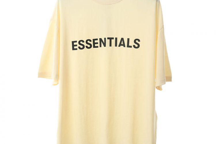 Áo Thun Fear of God Essentials Lemonade Vàng