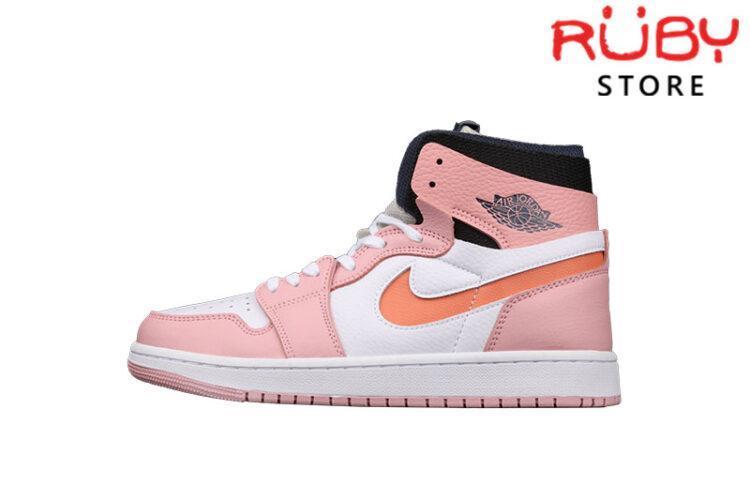 Giày Jordan 1 High Zoom Air CMFT Pink Glaze Hồng Cam