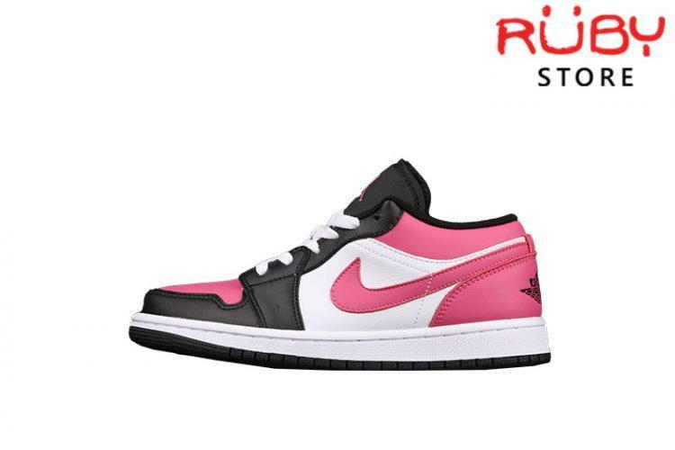 Giày Air Jordan 1 Low Pinksicle Hồng Đen