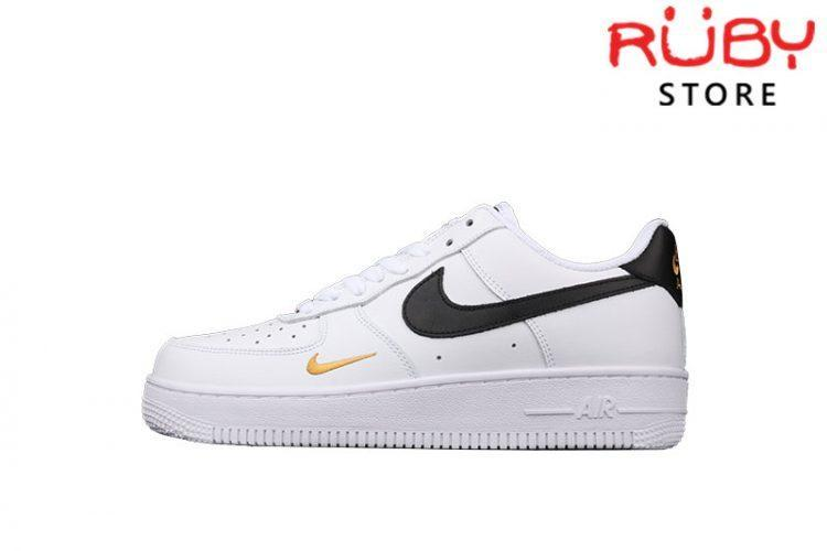 Giày Nike Air Force 1 Low 07 Essential White Black Gold