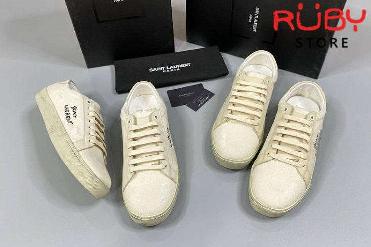 Giày Saint Laurent Court Classic Sl/06 Sneakers Embroidered