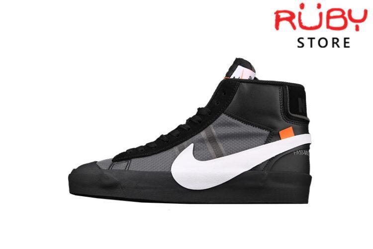 Giày Nike Blazer Mid Off-White Grim Reaper Đen
