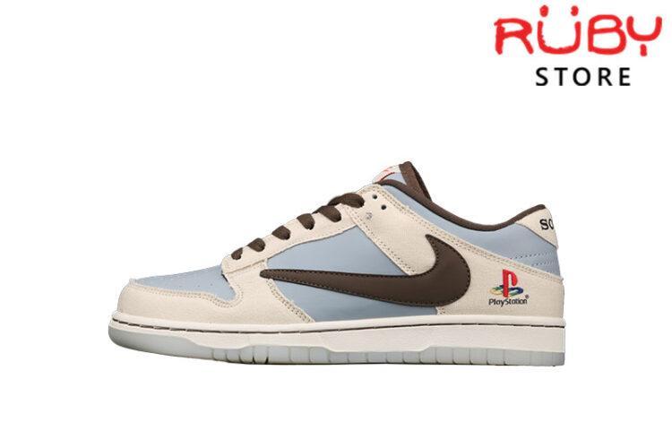 Giày Nike Dunk Low Travis Scott x Playstation