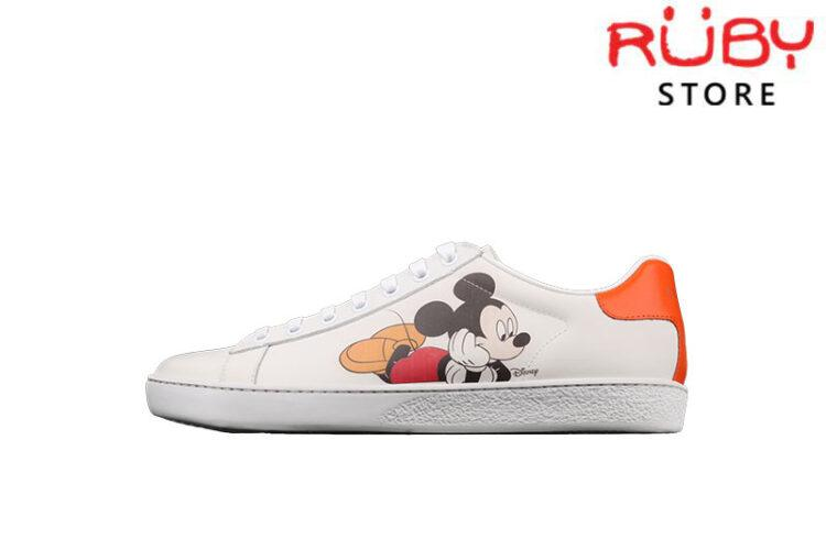 Giày Gucci Ace x Disney Chuột Mickey Replica 1:1 Cao Cấp