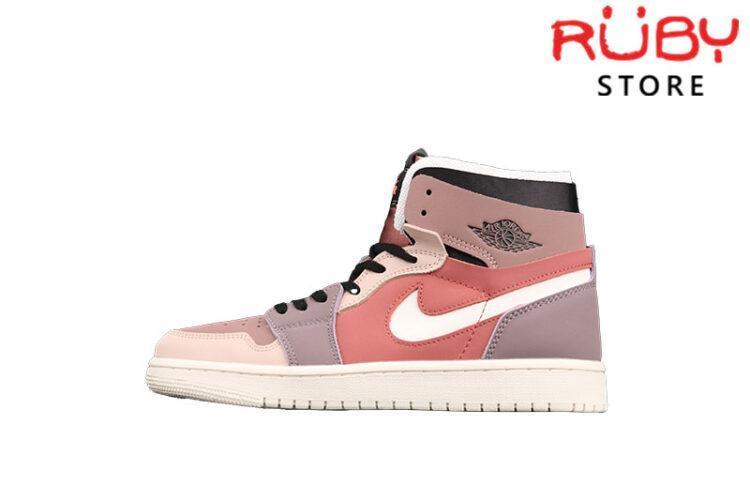 Giày Jordan 1 High Zoom Air CMFT Canyon Rust Hồng
