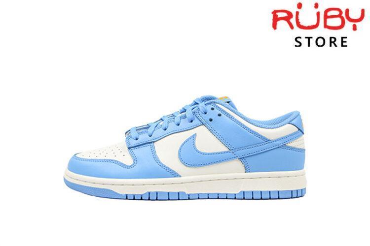 Giày Nike Dunk Low Coast Xanh Vàng