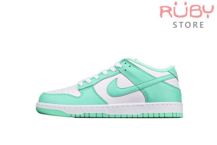 Giày Nike Dunk Low Green Glow Xanh Ngọc
