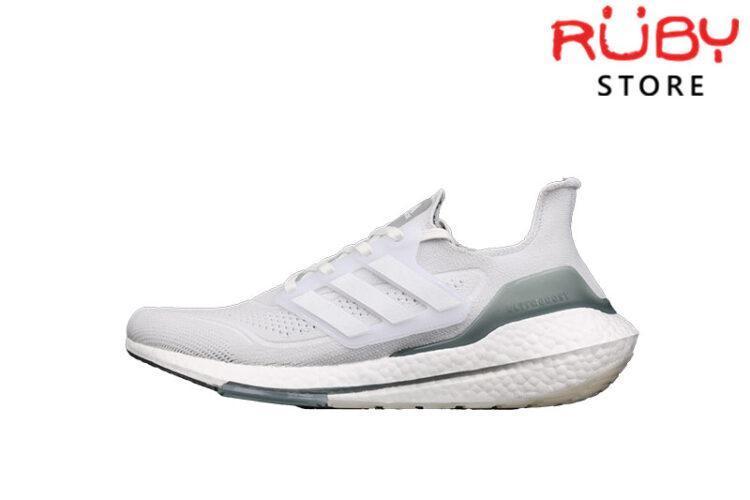Giày Adidas Ultraboost 21 Trắng Xanh