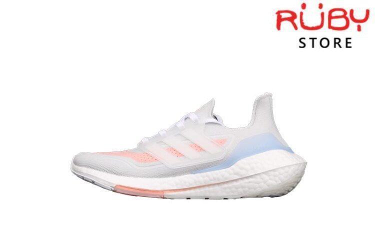 Giày Adidas Ultraboost 21 Xám Hồng