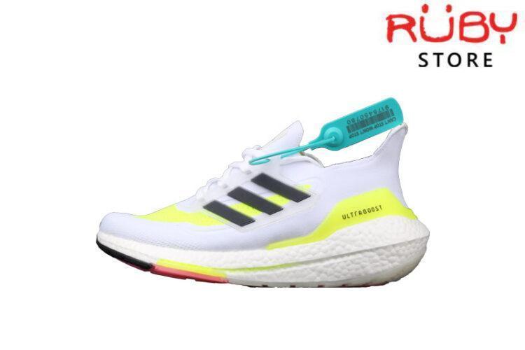 Giày Adidas Ultraboost 21 Xám Xanh Lá