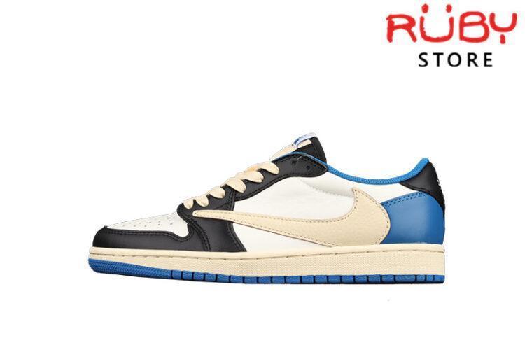Giày Air Jordan 1 Low x Fragment x Travis Scott Cổ Thấp