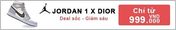 Giảm giá Jordan 1 x Dior