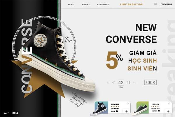 Giày Converse rep 1:1 tại Ruby Store
